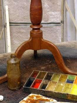 antique table repair