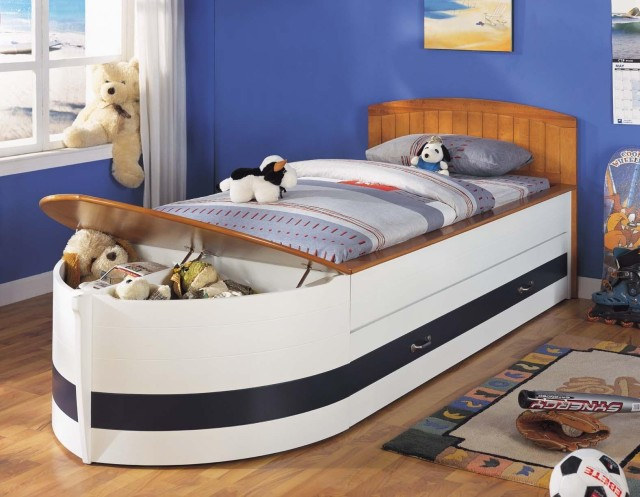 Recalled Sleigh Bed